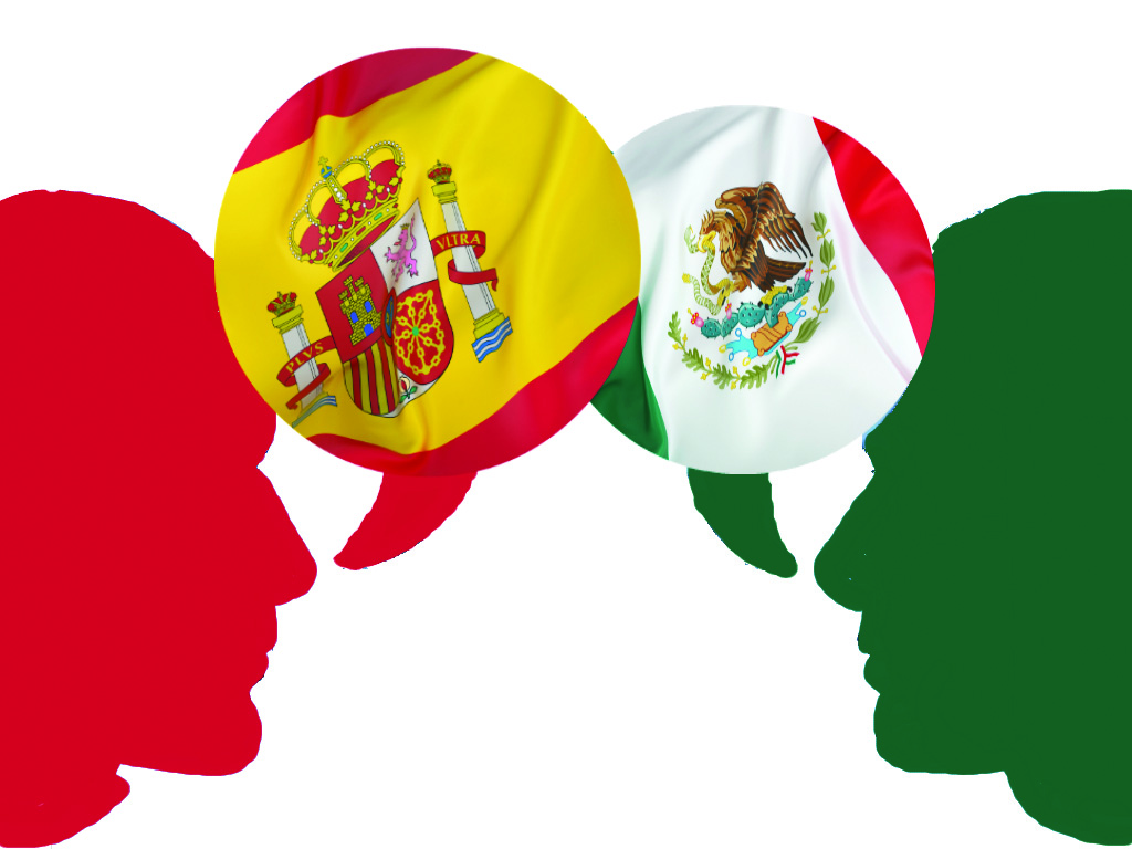 speaking english is mexican translation