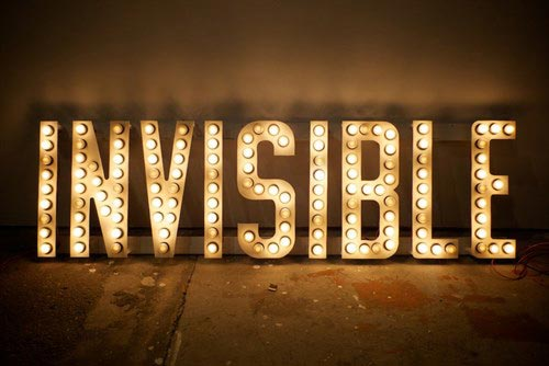 invisible website visibilty word