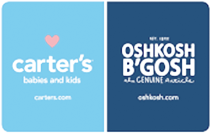 Carter's and OshKosh B'Gosh logos